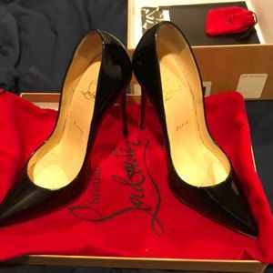 So late Christian louboutins